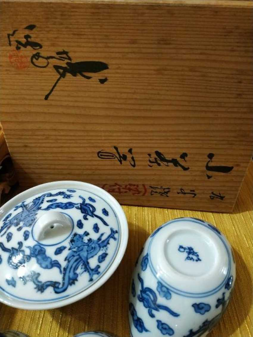 Japanese tea set - photo 4