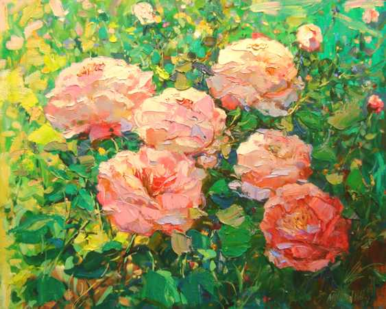 Andrey Mishagin. Blossomed peonies - photo 1