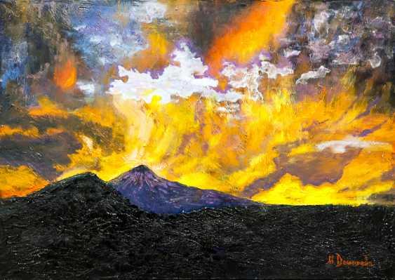 Marina Domareva. Sunset on Teide. Tenerife - photo 1