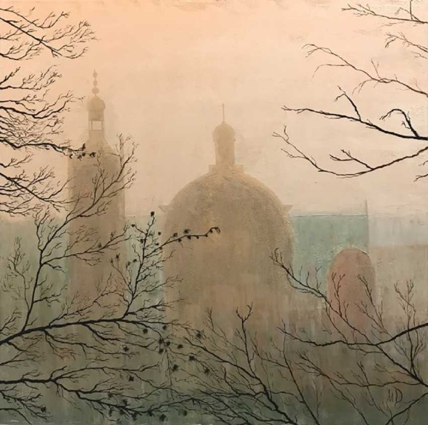 Marina Domareva. La ville dans la brume - photo 1