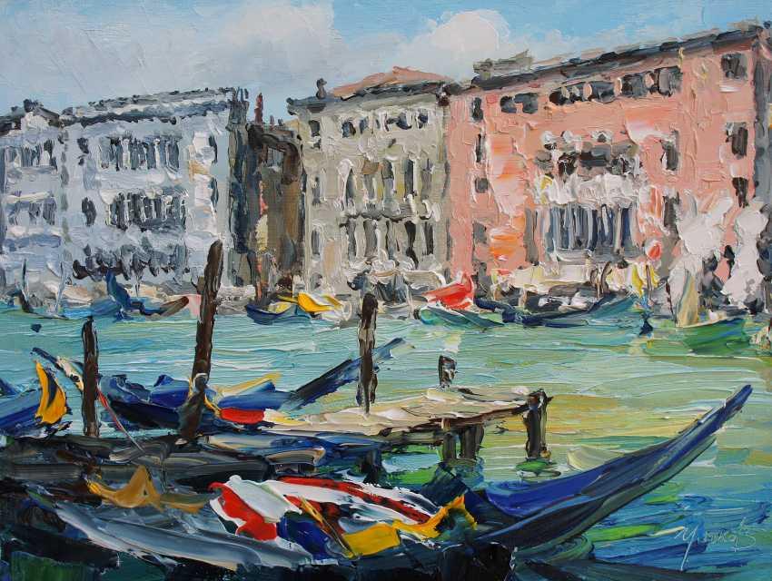 Valeriy Ushkov. Venice. 30x40 cm. - photo 1