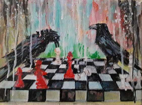 Svitlana Antonova. Crows and chess - photo 1