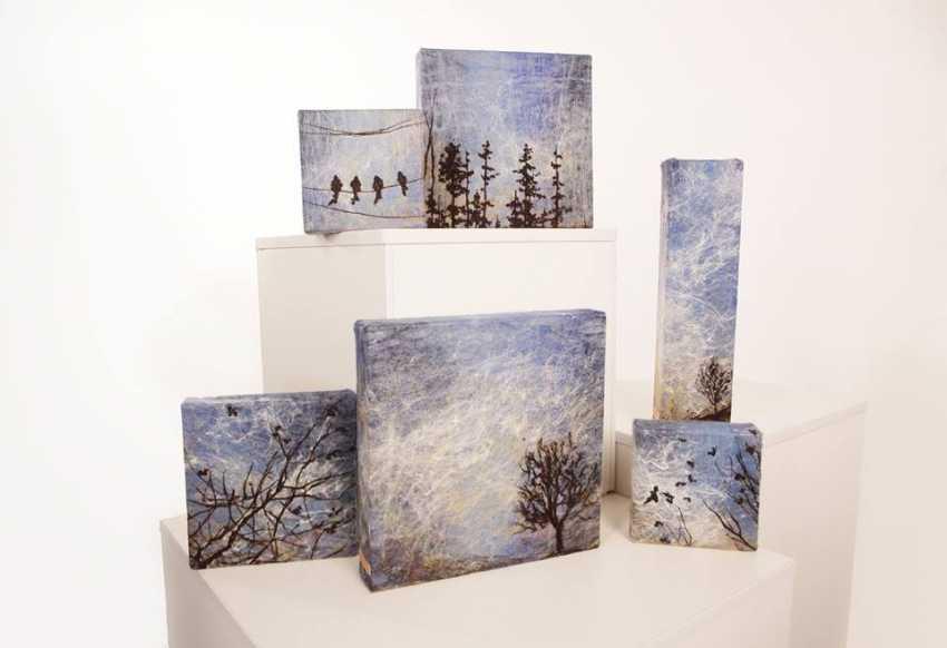 "Nelli Pashtenko. Tapestry ""BIRDS"" - photo 1"