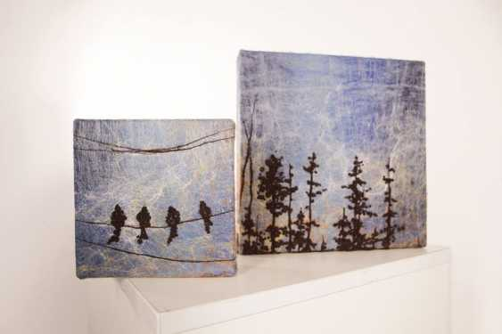 "Nelli Pashtenko. Tapestry ""BIRDS"" - photo 3"