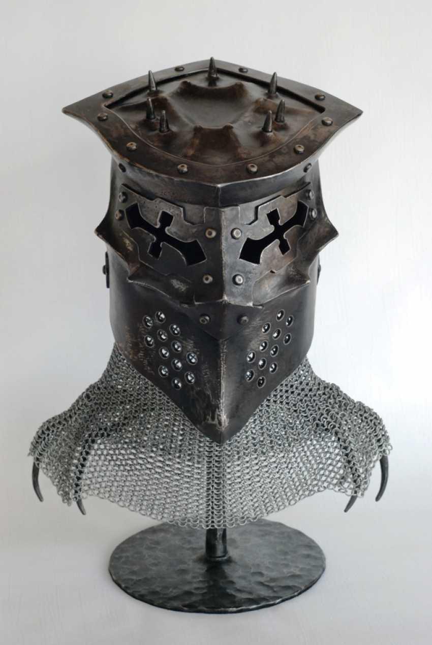 Dmitriy Filyev. Helmet (fantasy) - photo 1