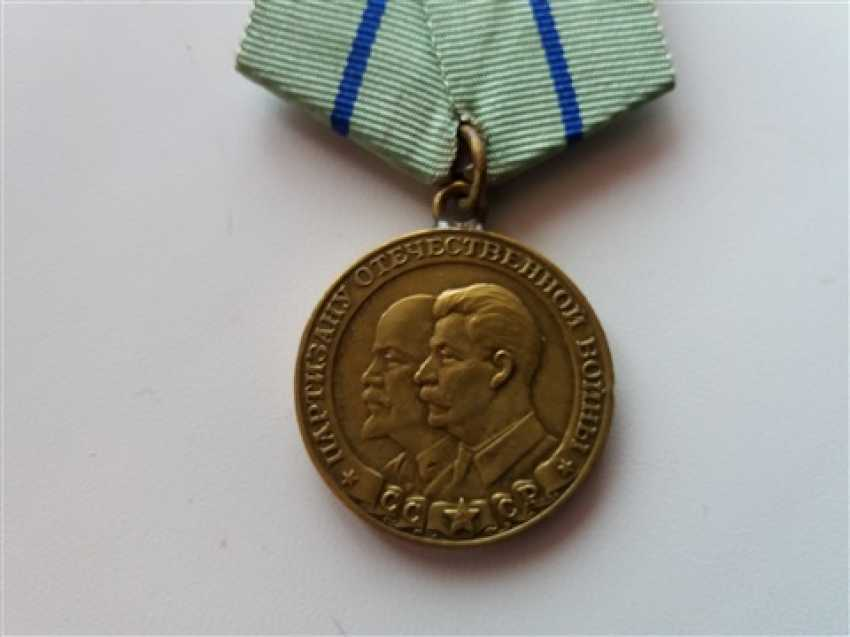 Medal Parisano world war II 2nd degree - photo 1