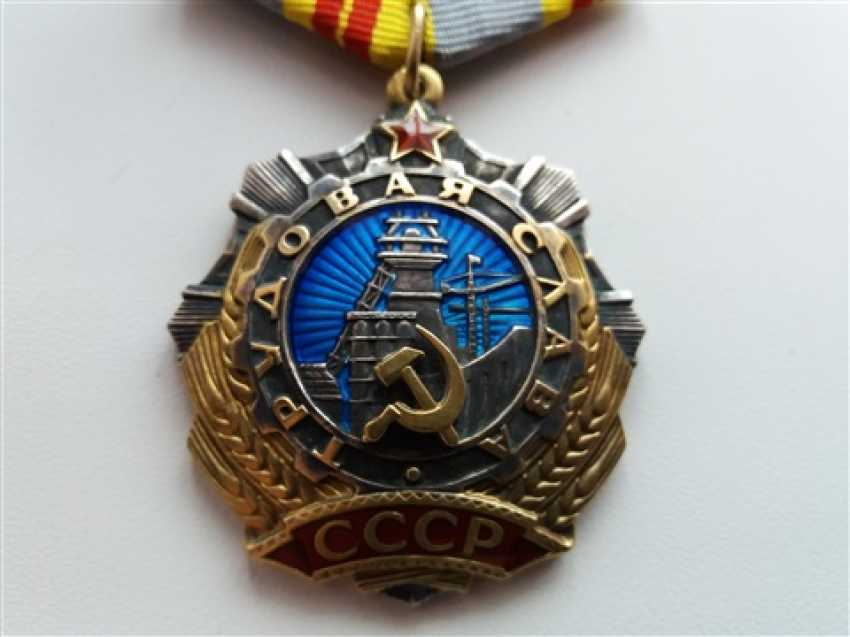 Order of labor Glory 2 degree - photo 1