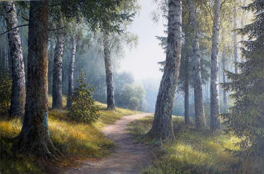 Evgeny Stain. Mittags im Wald - Foto 1