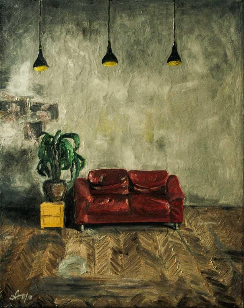 Alena Martsyanava. Couch - photo 1