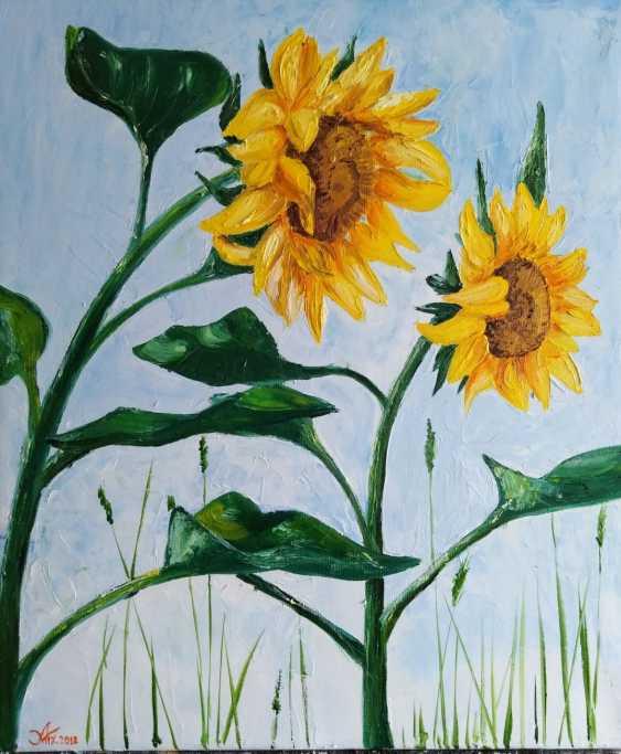 Alena Martsyanava. Sunflowers - photo 1