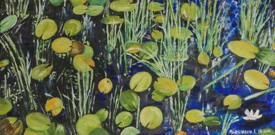 Alena Martsyanava. waterlilies - photo 1