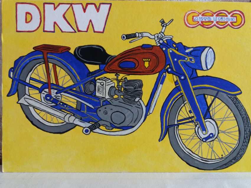 Vitalii Nechitaylo. DKW RT 125 - photo 1