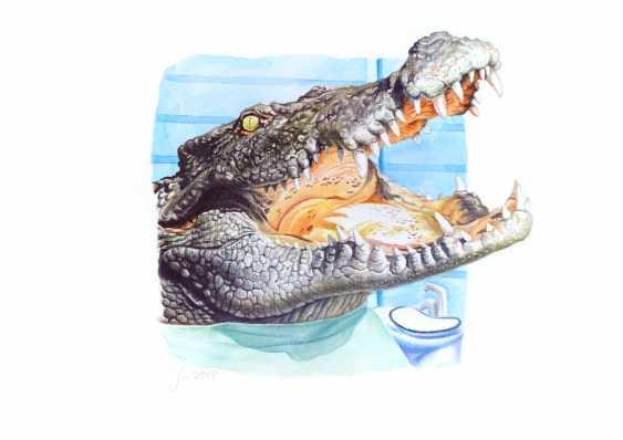 Alexey Fomin. Humanimals. Crocodile - photo 1