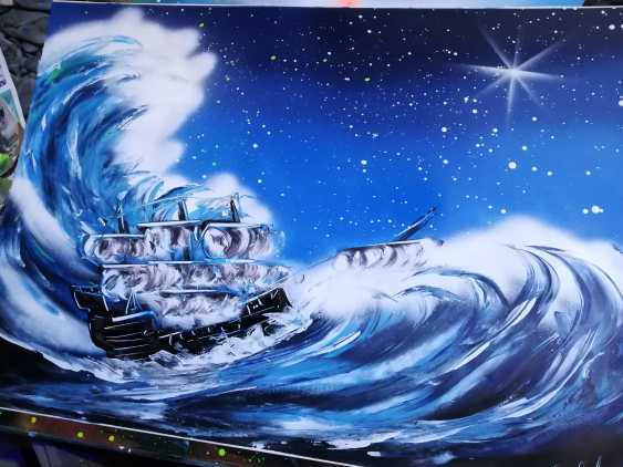 Evgeny Goloviev. Le navire pendant la tempête - photo 1