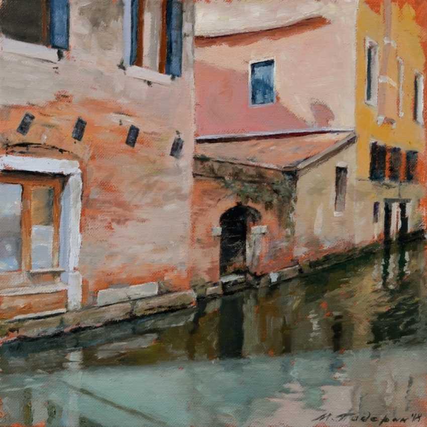 Max Paderin. Venetian canal - photo 1