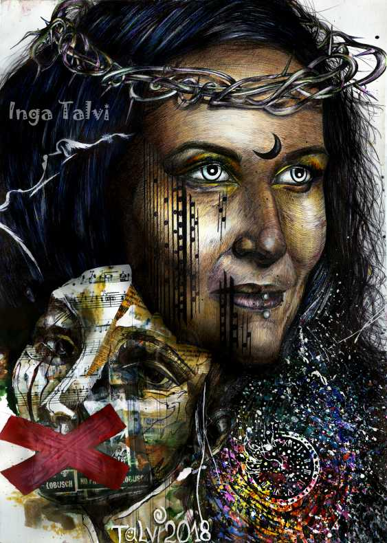 Inga Zagorskaya. Winter II - photo 1
