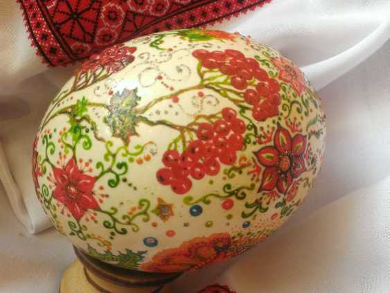 Ruda NATALIIA. Ostrich egg - photo 2