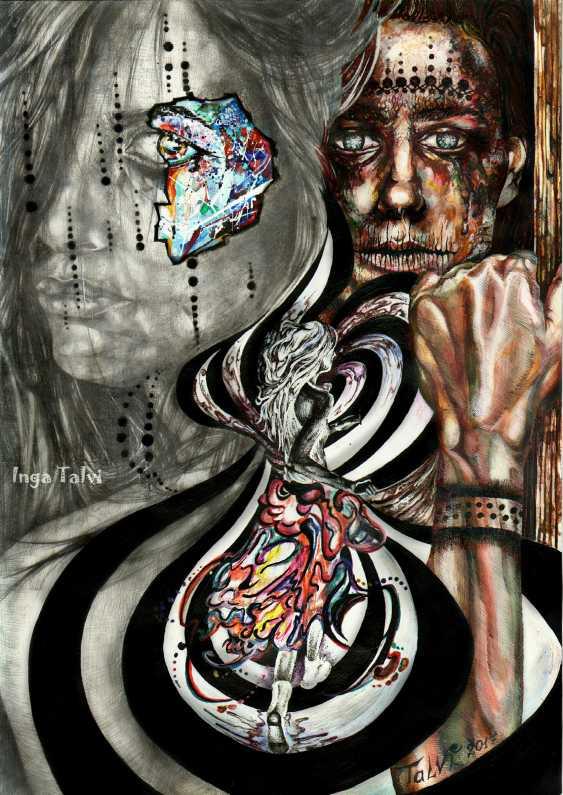 Inga Zagorskaya. Anatomy of the senses - an escape from myself. - photo 1