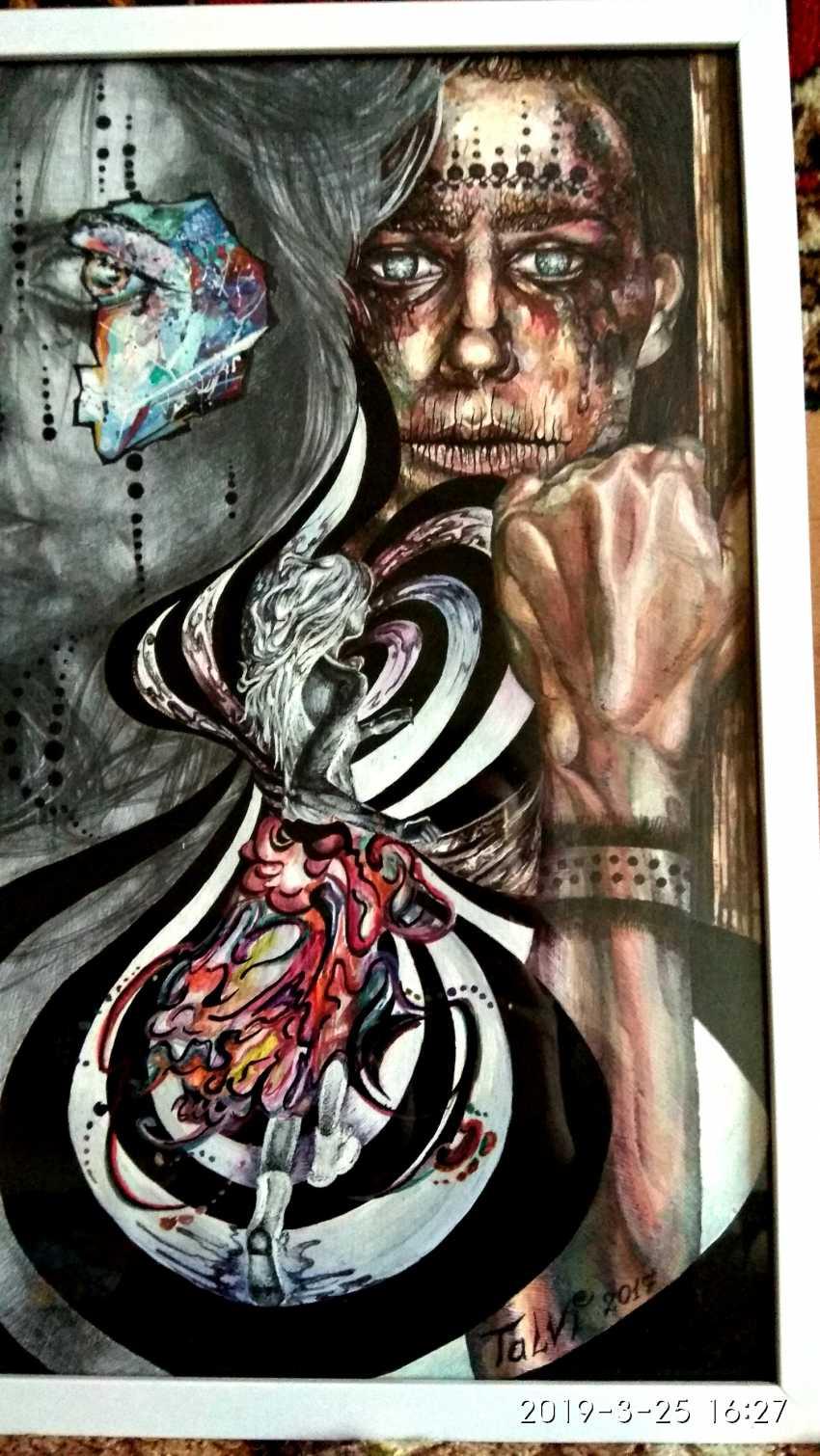 Inga Zagorskaya. Anatomy of the senses - an escape from myself. - photo 3