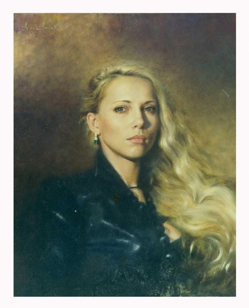 Andrej Reviakou. Portrait of famous lady. - photo 1