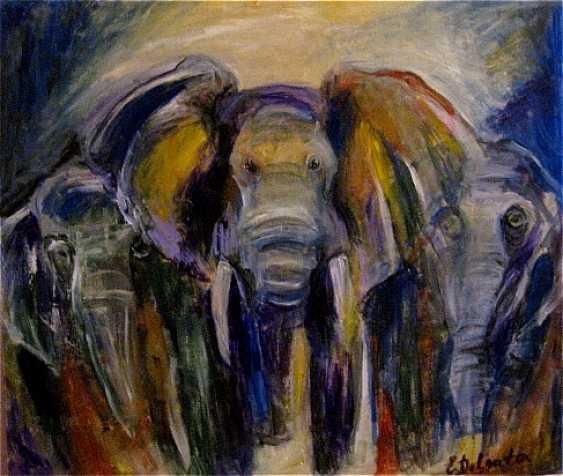 Elena Delgato. Elefanten - Foto 1