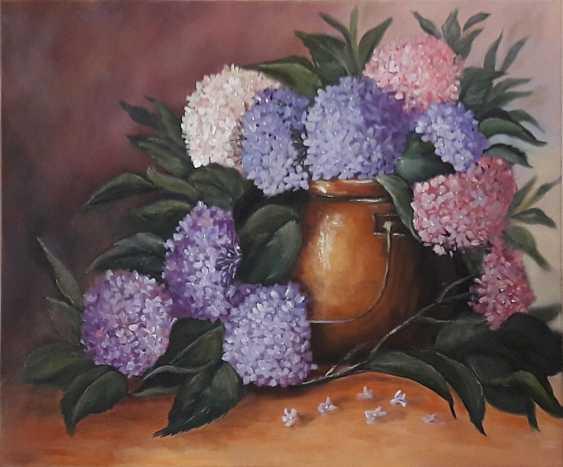 Svitlana Antonova. *La floraison des hortensias... il est dans la simplicité et le lustre.* - photo 1
