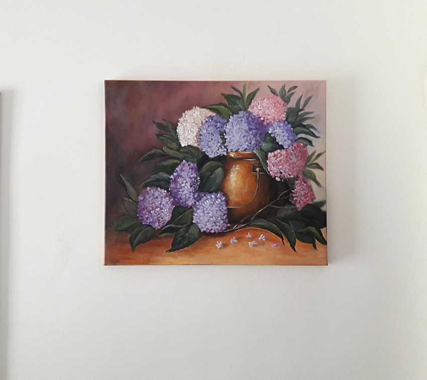 Svitlana Antonova. *La floraison des hortensias... il est dans la simplicité et le lustre.* - photo 2