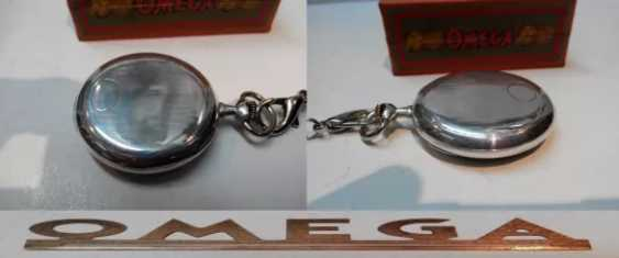 Vintage Omega silver pocket watch - photo 11
