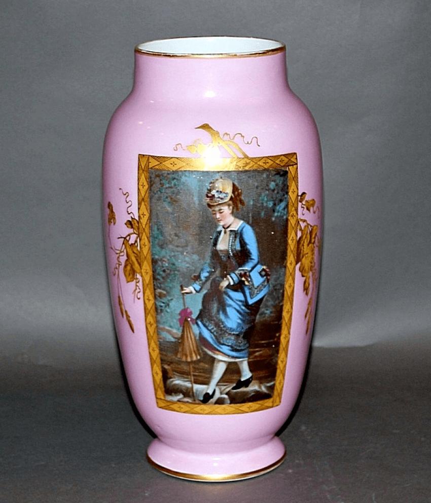 Vase.Kuznetsov factory, porcelain - photo 1