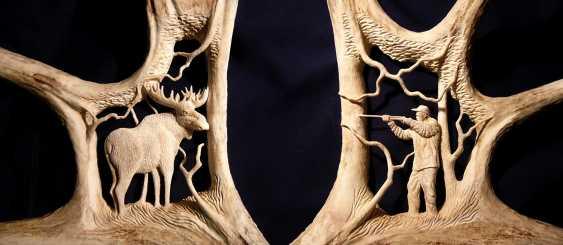 "Anton Kozhin. ""Moose hunting"" - photo 4"