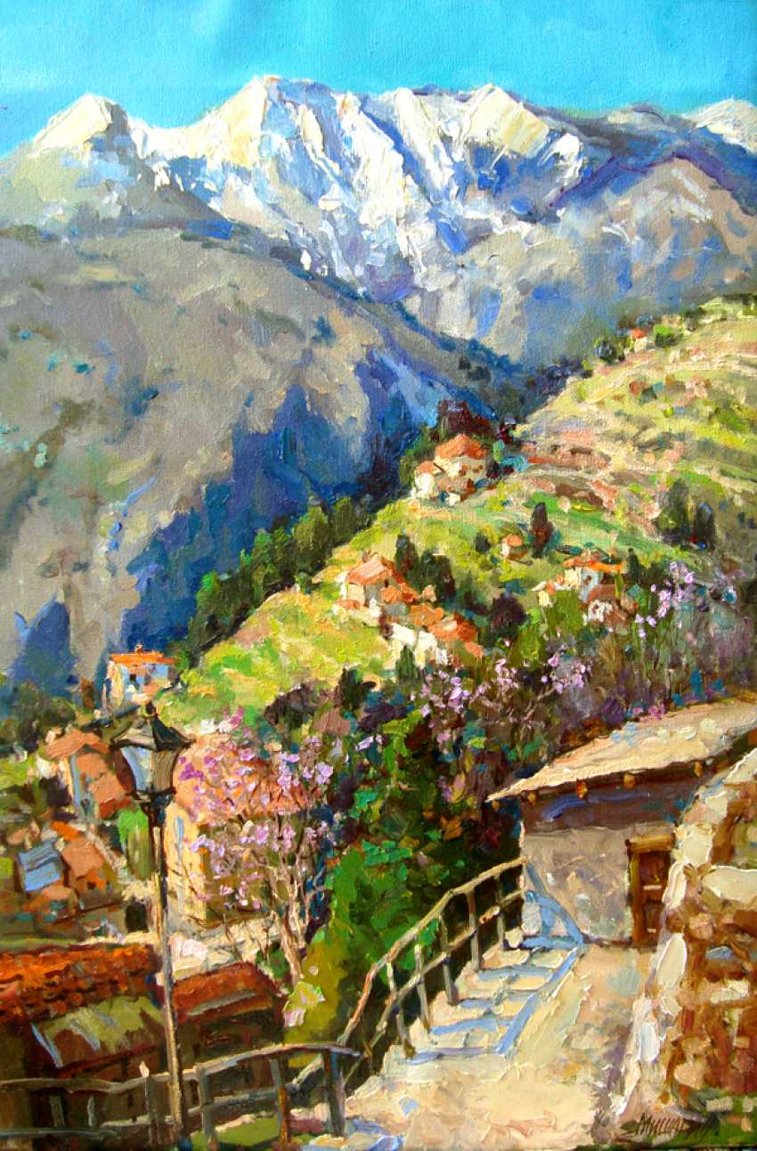 Andrey Mishagin. In the mountains of Italy - photo 1