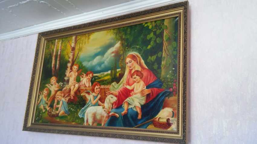 Anatoly Gook. Virgin Mary, Jesus Christ and Angels - photo 1