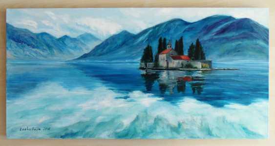 Ekaterina Koshukova. The Island Of St. George, Montenegro. Saint George island, Montenegro - photo 1