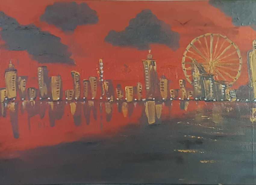 """Lali Glonti. From the series """"Urban motifs"""" - photo 1"""