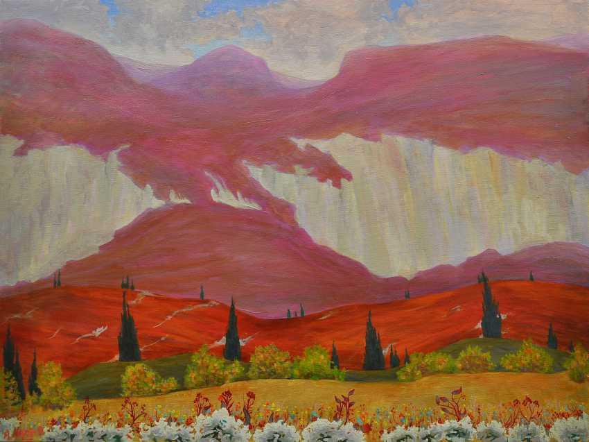 Anatoly Moroz. Girska osinj. Mountain autumn - photo 1