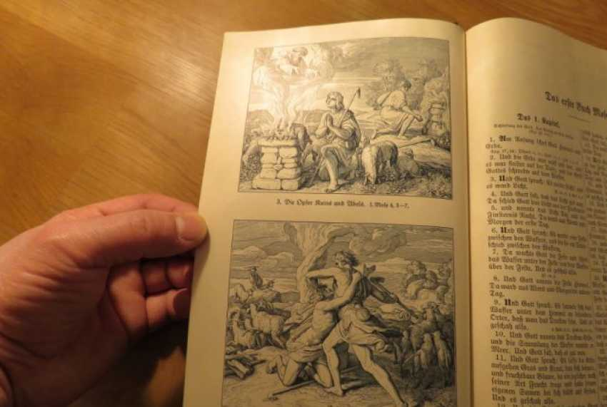 Great Old German Bible Martin Luther King -the Old Testament and the New Testament - photo 3
