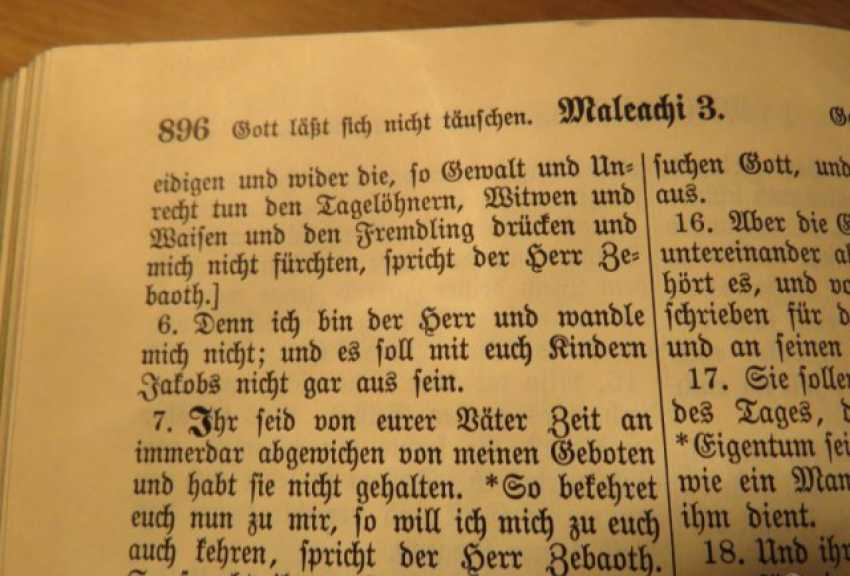 Great Old German Bible Martin Luther King -the Old Testament and the New Testament - photo 9