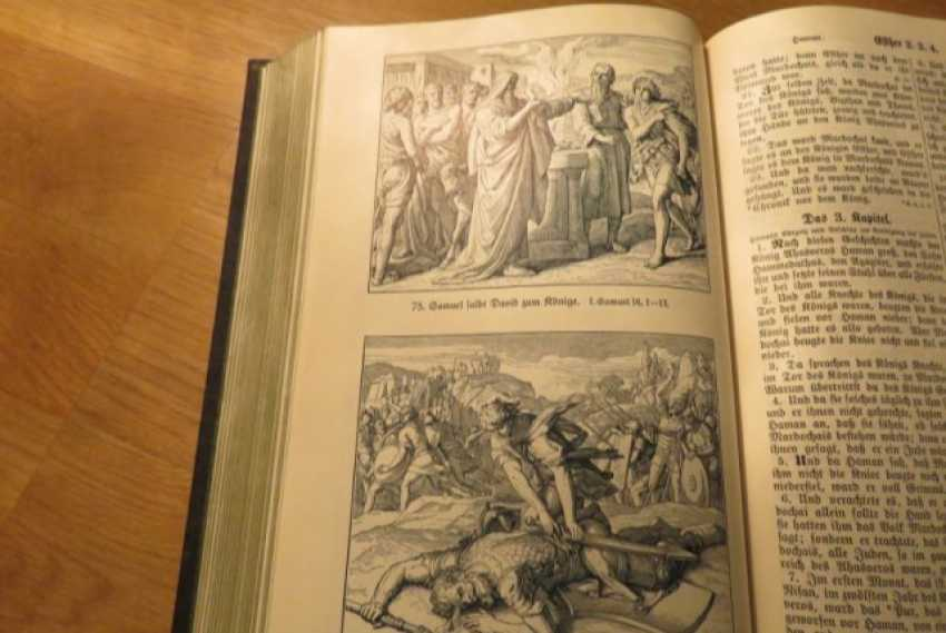 Great Old German Bible Martin Luther King -the Old Testament and the New Testament - photo 11