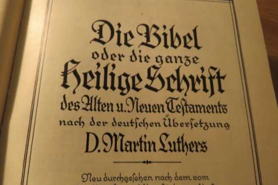 Great Old German Bible Martin Luther King -the Old Testament and the New Testament - photo 14