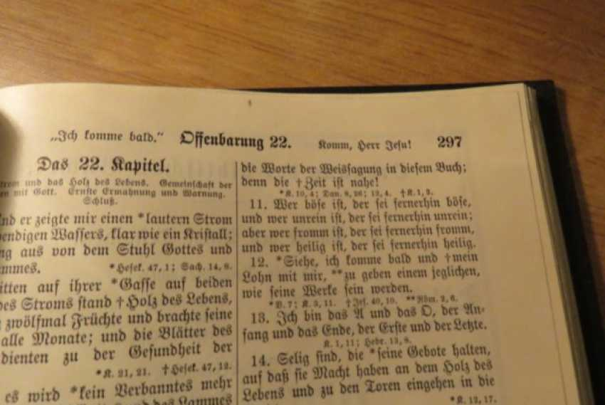 Great Old German Bible Martin Luther King -the Old Testament and the New Testament - photo 15