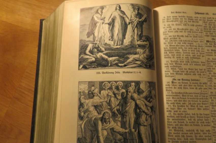 Great Old German Bible Martin Luther King -the Old Testament and the New Testament - photo 16