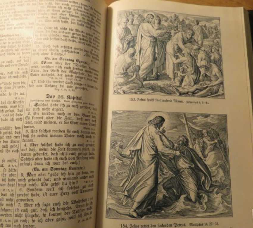 Great Old German Bible Martin Luther King -the Old Testament and the New Testament - photo 18