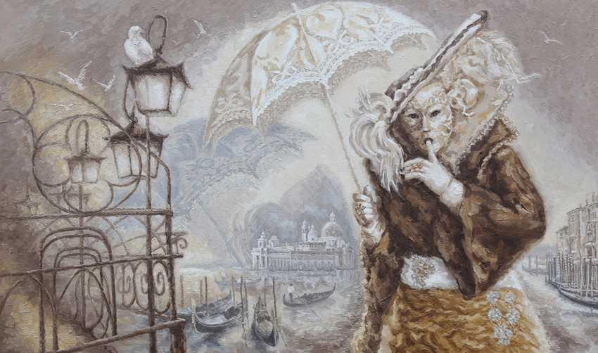 Tatyana Sannikova. Das Geheimnisvolle Venedig. - Foto 1