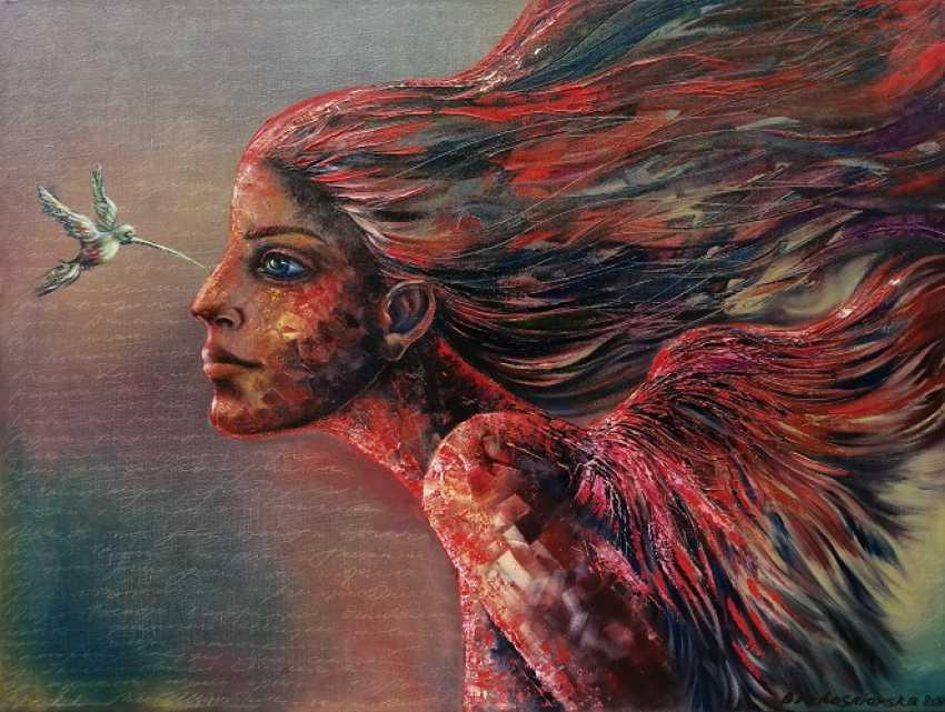 Olena Brzhosniovska. Are you a bird too? - photo 1