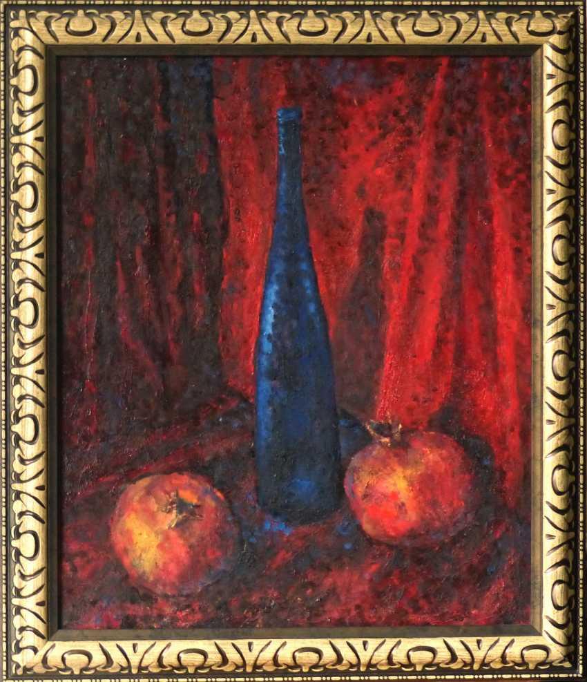 Constantin Pavlov. blau auf rot - Foto 1