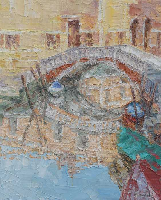 Tatyana Sannikova. Die Brücke. Venedig. - Foto 1