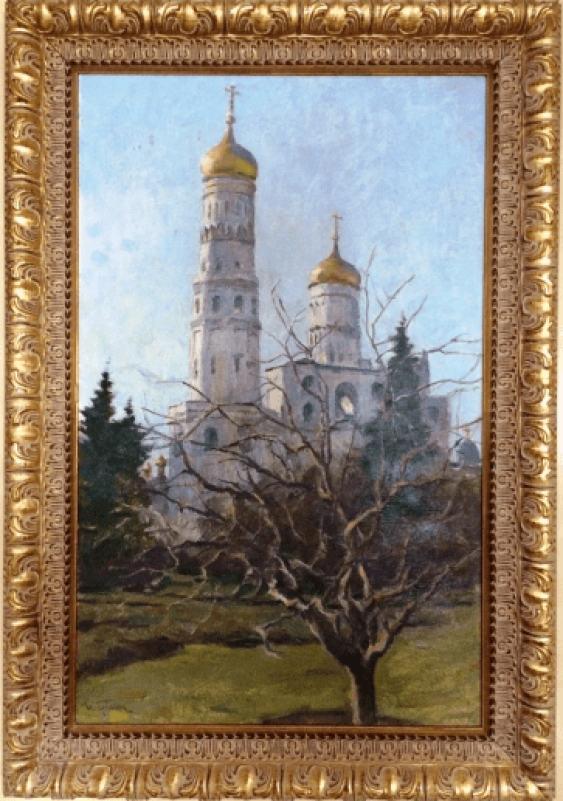 "The Painting ""Ivan The Great"". I. Grinyuk 1987 - photo 1"