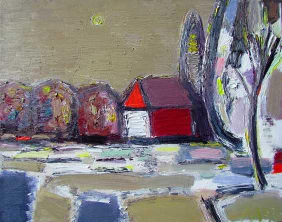 Viktoriia Lavr. Landscape with a house - photo 1