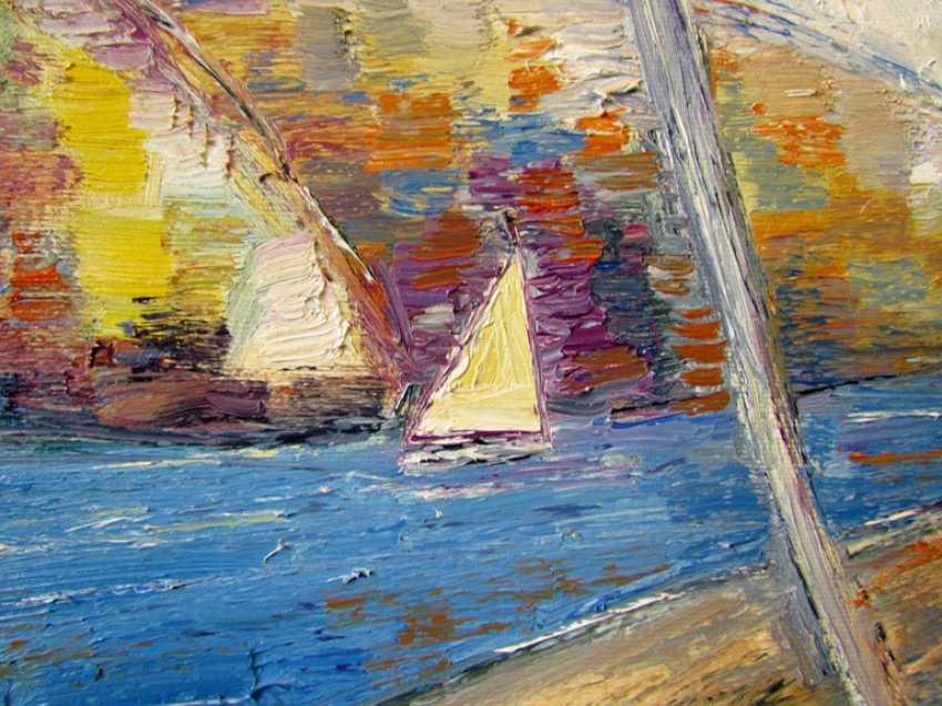 Viktoriia Lavr. Paysage avec un voilier - photo 3