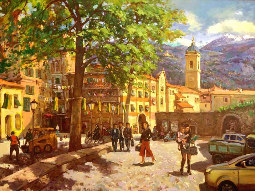 Andrey Mishagin. Everyday Italian town - photo 1